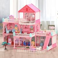 城堡别墅玩具房子公主娃娃屋豪宅367一9岁女童过家家生日礼物女孩