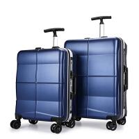 新款行李箱20寸女旅行箱24寸拉杆箱万向轮铝框单拉杆登机箱男密码箱