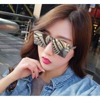 2018082906361072018年新款网红同款方形反光墨镜女复古大框水银炫彩太阳镜男士司机开车眼镜