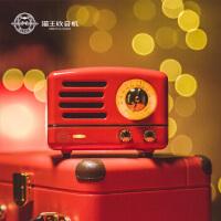 猫王小王子复古蓝牙便携式音箱(OTR) 迷你户外音响 重低音炮