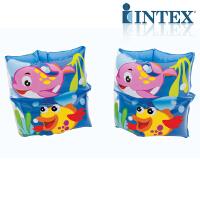 INTEX趣味图手臂圈59650 儿童游泳泳圈手臂圈水袖浮圈 游泳技能开