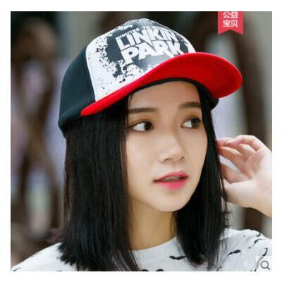 字母帽子女鸭舌帽韩版百搭潮学生新款甜美可爱棒球帽 品质保证 售后无忧