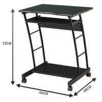 好事达简易台式办公电脑桌 现代简约 卧室移动桌家用床边小型2737