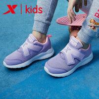 特步童鞋 小童男童女童休闲鞋2019年新品时尚3-6岁小孩儿童鞋子681116329161