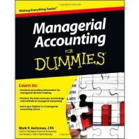 【预订】Managerial Accounting for Dummies 9781118116425
