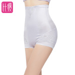 比瘦  无痕高腰收腹裤女产后收腹内裤束腰美体提臀束腹裤放卷边双层塑腰 BB287