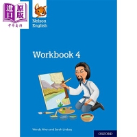 【中商原版】Nelson English: Year 4/Primary 5: Workbook 4 牛津纳尔逊英语:级