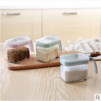 厨房用品套装玻璃调味盐罐糖罐调料罐