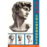 俞建国石膏头像素描临摹范本1