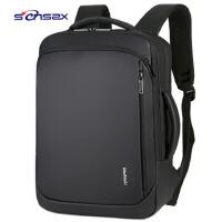 厂家直销新款商务背包男士双肩包韩版户外旅行休闲简约时尚电脑包