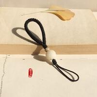 手工编织汽车钥匙扣绳链挂件九乘金刚结菩提根保平安男女