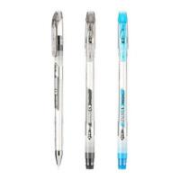 金万年 可擦中性笔 0.5mm全针管 办公学生 可擦水笔 G-1268A12支装