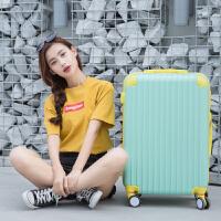 20181026172039526撞色万向轮拉杆箱20寸糖果色小清新行李箱女韩版学生24密码旅行箱