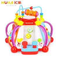 【当当自营】汇乐玩具快乐小天地儿童学习桌多功能益智婴幼儿宝宝游戏桌806