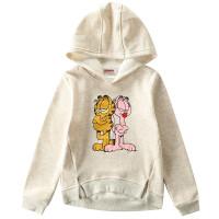 加菲猫童装女童印花单卫衣GGW17524