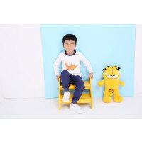 【��^59元3件】加菲��� GAFFEY KITTY 男童白色�L袖�l衣GKTA5049