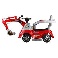 儿童电动车四轮遥控玩具车可坐人工程车挖土机充电挖掘机电动童车
