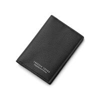 卡包男士约小卡片包女式多卡位零钱包小巧证件位真皮卡套夹