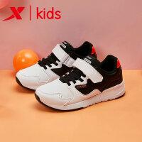 特步童鞋中大童男童鞋运动鞋2019春季新款儿童男童休闲鞋681115329179