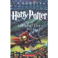 英文原版 哈利波特与火焰杯美国版 Harry Potter and the Goblet of Fire