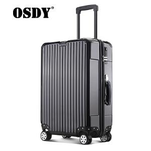 【品牌新款,可礼品卡支付】osdy拉杆箱男女通用行李箱24寸旅行箱A-935