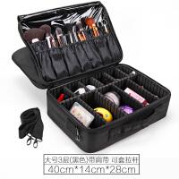 大容量便携手提化妆师化妆包美甲纹绣半工具收纳化妆箱大号多层