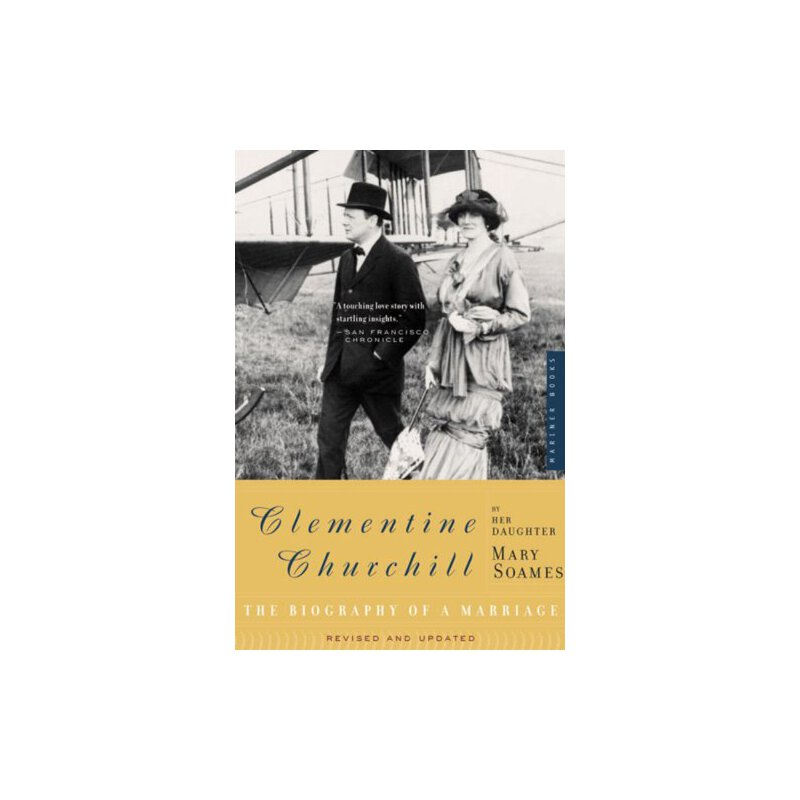 Clementine Churchill: The Biography of a Marriage [ISBN: 978-0618267323] 美国发货无法退货,约五到八周到货