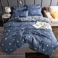 卡通床上用品被套四件套学生宿舍单人床单三件套被子90床褥子套装
