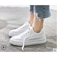 """女鞋�仍龈咝""""仔�女百搭白鞋厚底板鞋�\�有�"""