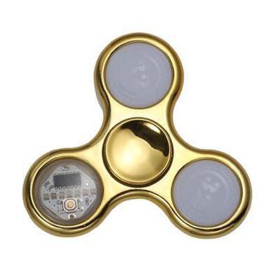指尖陀螺仪成人儿童发光玩具手指上魔幻指间螺旋男孩减压神器带灯
