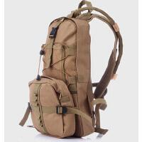 时尚多功能运动户外双肩迷彩包 便携骑行水袋背包含2.5L水囊