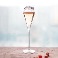 香槟杯酒杯香槟杯起泡高脚杯铅水晶气泡葡萄 图片色