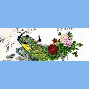 北京著名工笔画画家,北京市美协会员凌雪(荣华富贵)