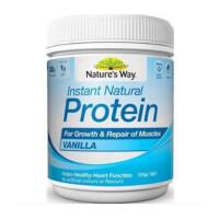 澳洲直邮 Nature's Way蛋白粉 促进疲劳恢复 增强免疫力375g 香草味