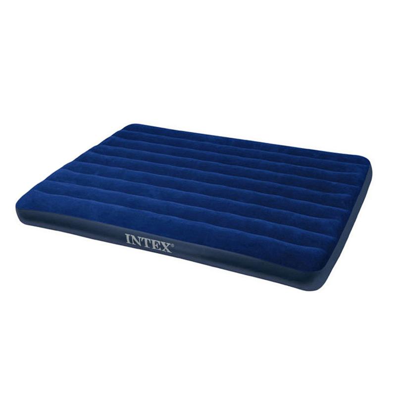 INTEX植绒充气床单人双人加大加厚午休床户外气垫床
