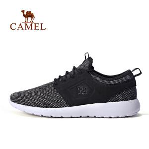 【每满200减100】camel骆驼户外日常跑鞋 情侣款透气运动鞋跑步鞋男女