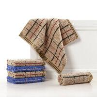金号毛巾 纯棉亲肤赤金系列提锻方巾F116 小毛巾手帕 2条装