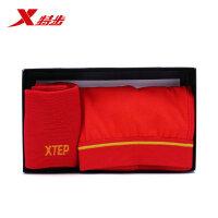 特步运动礼盒本命年红色新年赠礼男士内裤袜子礼盒882139809015