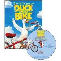 英文原版 鸭子骑车记有声读物 Duck On A Bike Book and CD