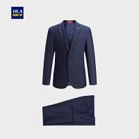 HLA/海澜之家平驳领时尚西服套装挺括简洁套西男