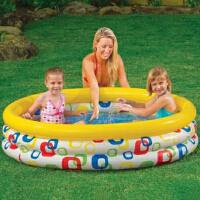 INTEX充气水池58449/58439 几何图形水池 家庭游泳池小孩游