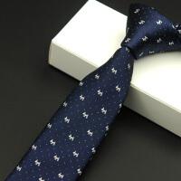 领带 男士窄式提花领带2020年韩版新款结婚配饰男式时尚休闲职业装