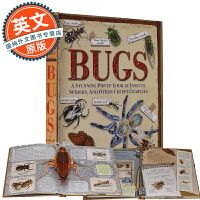 昆虫立体书 英文原版 Bugs: A Stunning Pop-up Look at Insects, Spiders