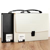 风琴包多层学生文件夹多功能手提资料袋试卷夹办公公文包