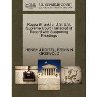 Rappa (Frank) v. U.S. U.S. Supreme Court Tran****** of Reco