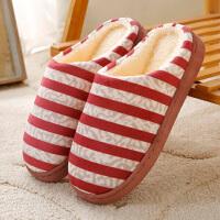 棉拖鞋男女冬季室内情侣家居家用厚底保暖月子鞋秋冬天家居日用拖鞋