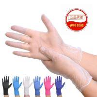 100只装一次性手套PVC橡胶乳胶食品加厚耐用加长家用美容女批发 可选