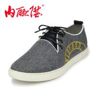 内联升男鞋布鞋春秋时尚透气潮男休闲老北京布鞋6245C/6246C