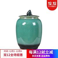 茶叶罐陶瓷 大号 密封罐茶饼普洱醒茶 景德镇陶瓷茶具存储储茶罐茶缸