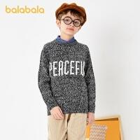 【�_�W季 折后�B券�A估�r:76.9】巴拉巴拉男童毛衣童�b�和�毛衫�r尚假�杉�百搭上衣潮